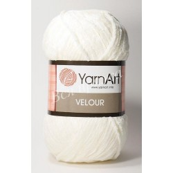 VELOUR YarnArt 840 (Белый)