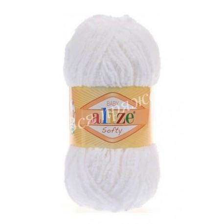 SOFTY Alize 55 (Белый)