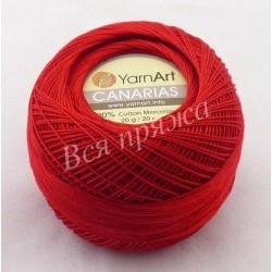 CANARIAS YarnArt 6328 (Красный)