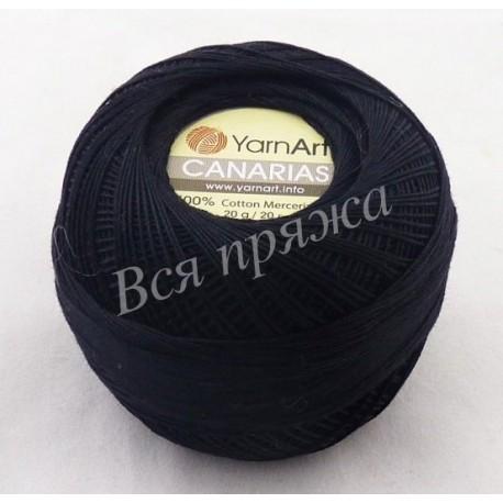 CANARIAS YarnArt 9999 (Черный)