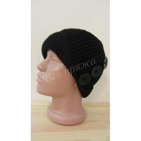 Вязаная крючком шляпка для девочки