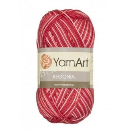 BEGONIA MELANGE YarnArt 0091 (Красный)