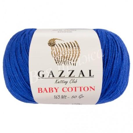 BABY COTTON Gazzal 3421 (Василек)