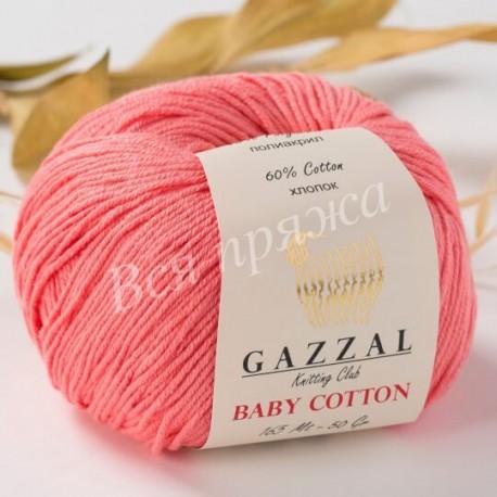 BABY COTTON Gazzal 3435 (Коралловый)