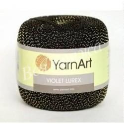 VIOLET LUREX YarnArt 1999 (Черный люрекс)