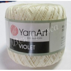 VIOLET YarnArt 6282 (Молочный)