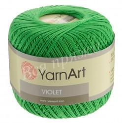 VIOLET YarnArt 6332 (Зеленый)