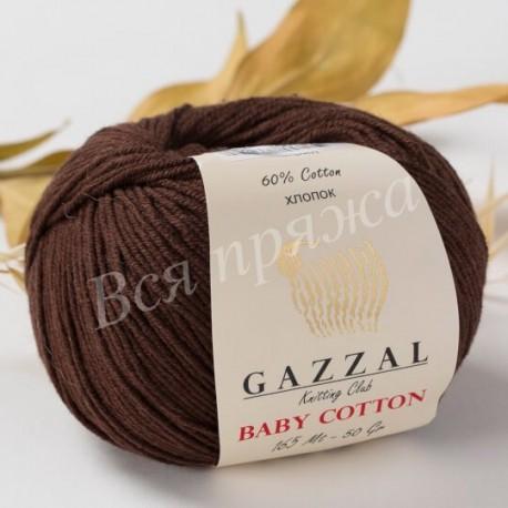 BABY COTTON Gazzal 3436 (Коричневый)