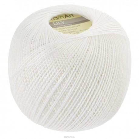 LILY  YarnArt 1000 (Белый)