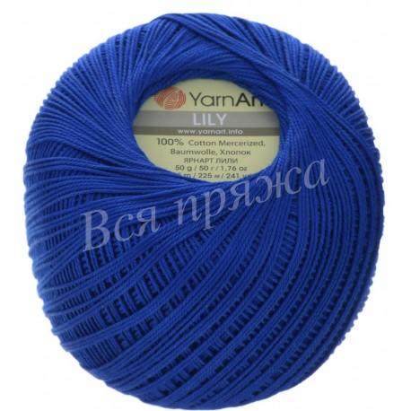 LILY  YarnArt 4915 (Василек)
