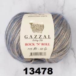 "ROCK""N""ROLL Gazzal 13478 (Голубой-Серебро)"