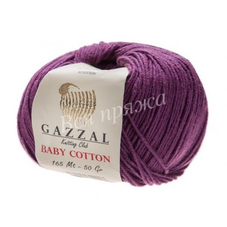 BABY COTTON Gazzal 3441 (Баклажан)