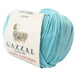 BABY COTTON Gazzal 3451 (Лазурь)