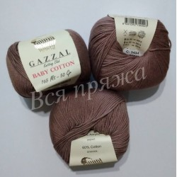 BABY COTTON GAZZAL 3434