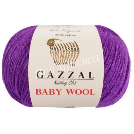 BABY WOOL Gazzal 815 (Фиолетовый)