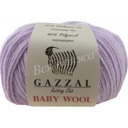 BABY WOOL Gazzal 823 (Нежная сирень)
