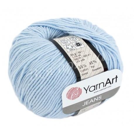 JEANS YarnArt 75 Нежно-голубой