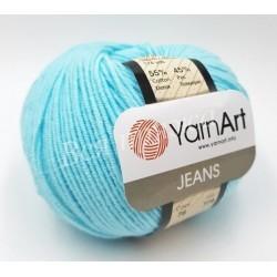 JEANS YarnArt 76 Светлая бирюза