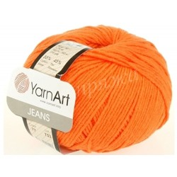 JEANS YarnArt 77 Апельсин