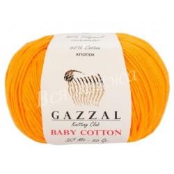 BABY COTTON Gazzal 3416 (Темно-желтый)