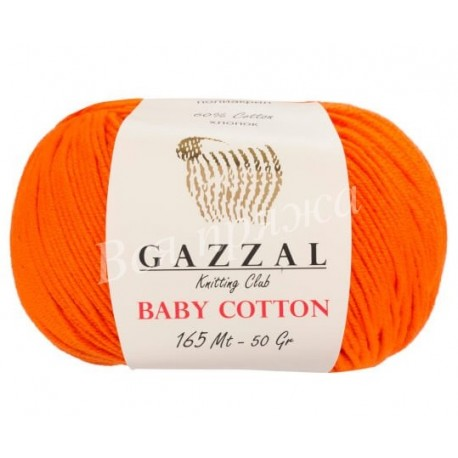 BABY COTTON Gazzal 3419 (Оранжевый)