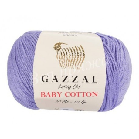 BABY COTTON Gazzal 3420 (Лаванда)
