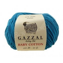 BABY COTTON Gazzal 3428 (Темная бирюза)
